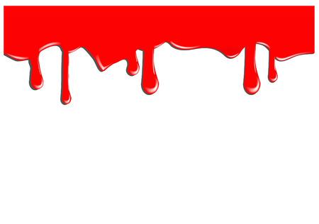 paint drop: blood background