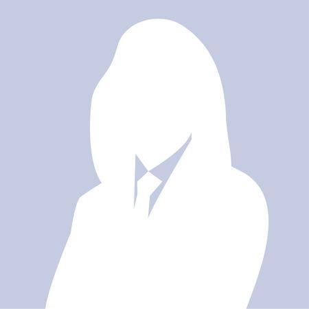 woman profile: Business woman ,Profile