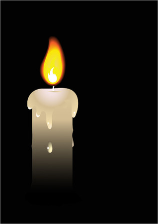 commemoration day: candle