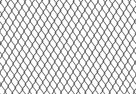 enclose: wired fence - illustartion