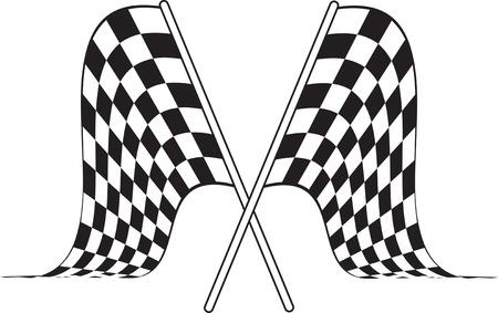 accomplish: checkered flag