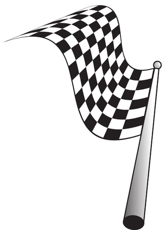carting: bandera a cuadros