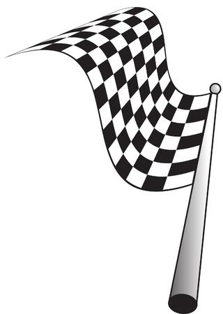 motorised: checkered flag