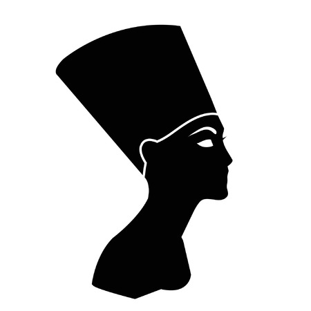 Egyptian Queen Nefertiti Vector