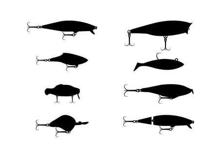 wobbler: fishing wobbler Illustration
