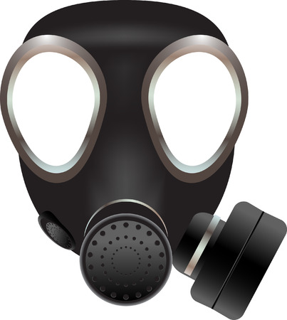 gas mask: Gas mask vector