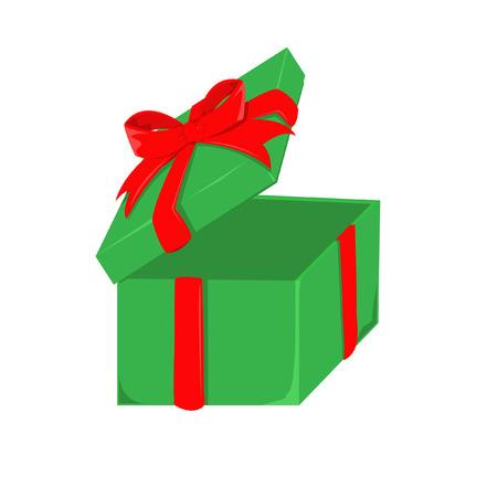 pledge: gift box Illustration