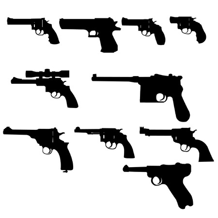 weapons: Vector Set - Weapons -Guns