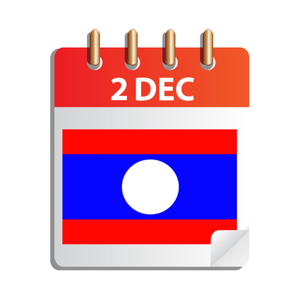 lao: Lao National Day , calendar