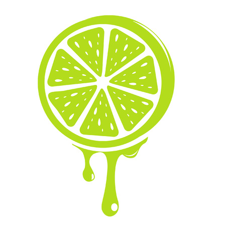 limon: lime Illustration