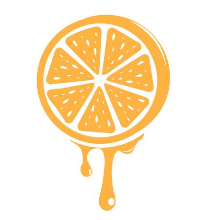 orange peel: orange
