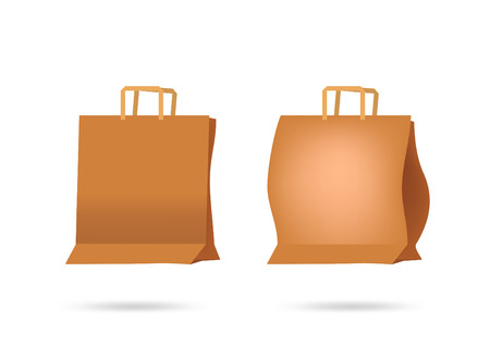 blown: Paper bags Illustration