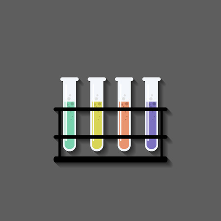 in vitro: vitro ,Flat style Illustration
