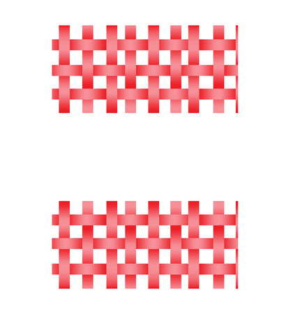 seamless basket weave Vector