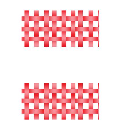 seamless basket weave 向量圖像