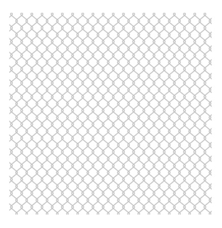 chained link fence: wired fence - vector