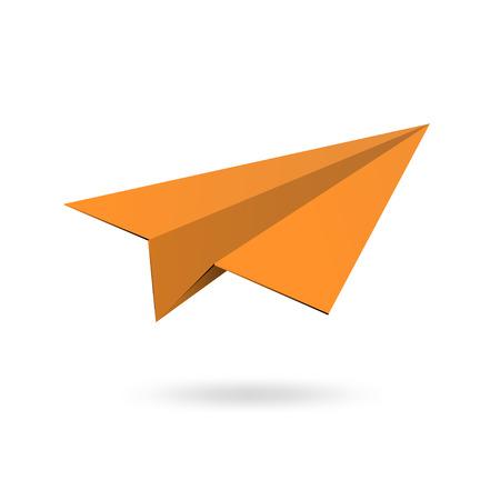 paper aircraft Illustration