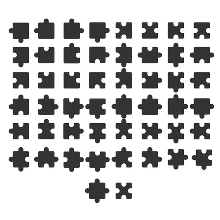 jigsaw: jigsaw,vector Illustration
