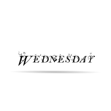 wednesday: wednesday  text