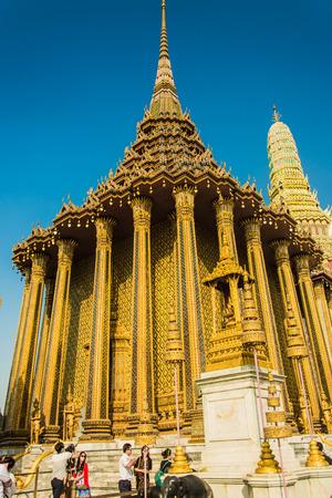 wat: Wat Phra Kaew Stock Photo