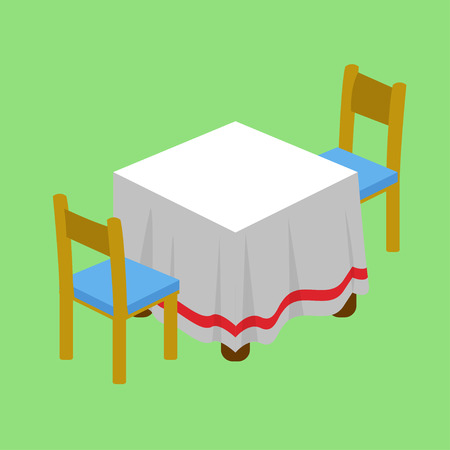 dining: Dining table Illustration