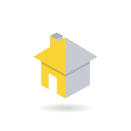 logotipo de construccion: casa