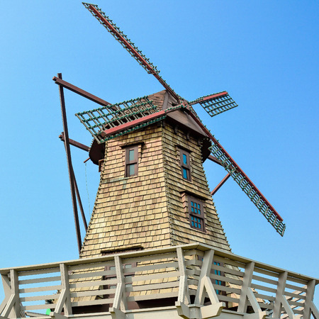Wind Mills Stock Photo