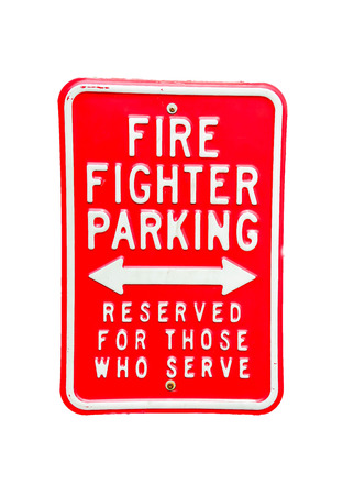 fire fighter: fire fighter parking Stock Photo