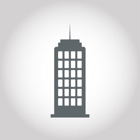 office building: office  building icon Illustration