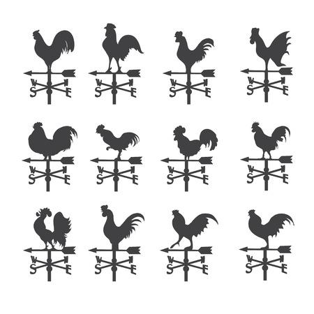 gallo: icono de la paleta de tiempo