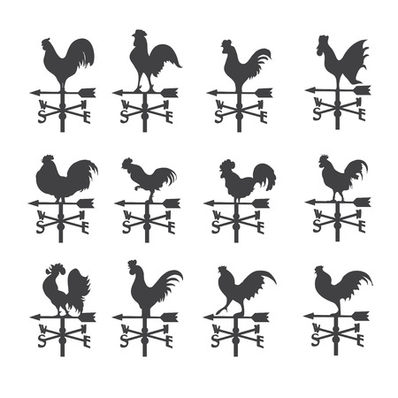 rooster: weather vane  icon