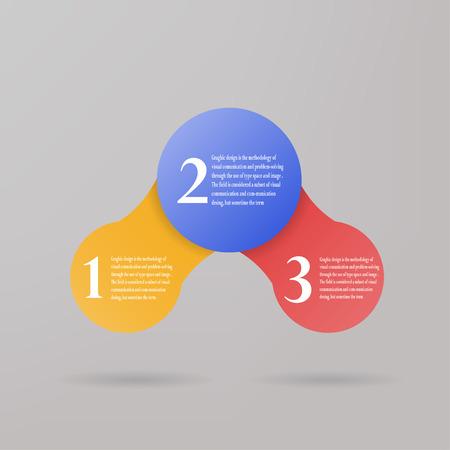 graphic: circle design  info graphic