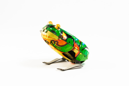 tin: Wind up tin toys.