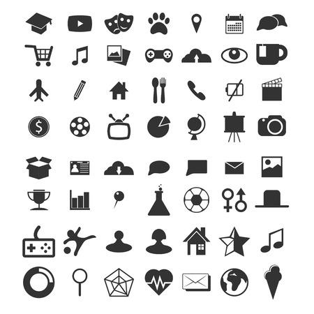 web icons: icons set for web