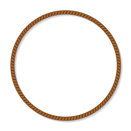 marcos redondos: marco de la cuerda