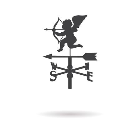 weather vane: weather vane icon