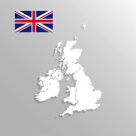 england map: England Map Illustration