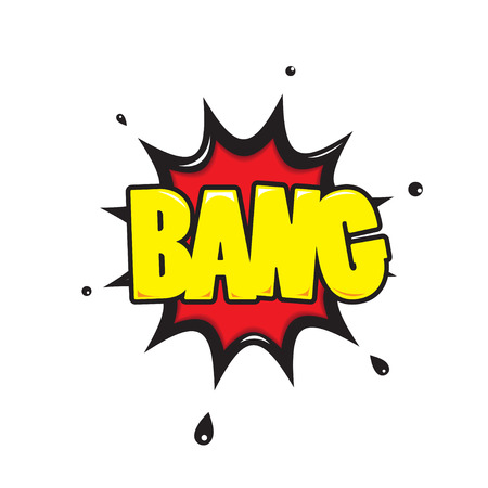 bang: bang  Comic Speech Bubble Cartoon