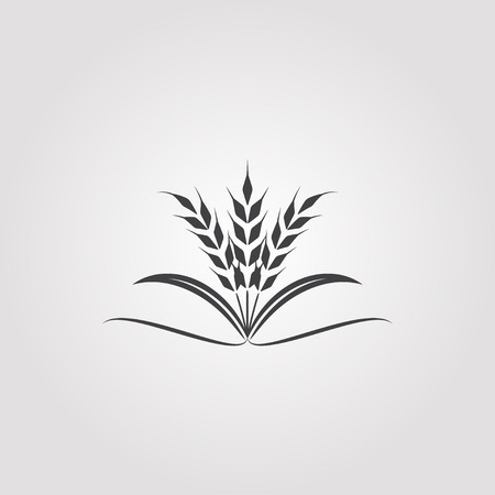 rice icon  Vectores