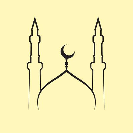 mosque vector Illustration
