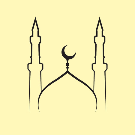 mosque illustration: mosque vector Illustration