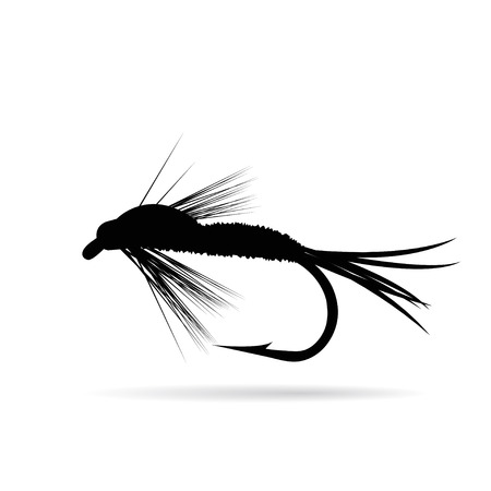 Fishing lure Ilustrace