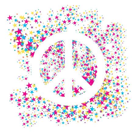 peace icon  Illustration