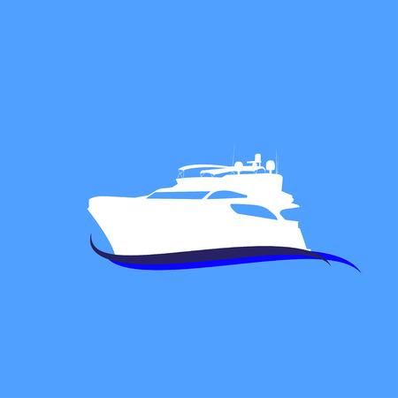 speedboat: speedboat vector Illustration