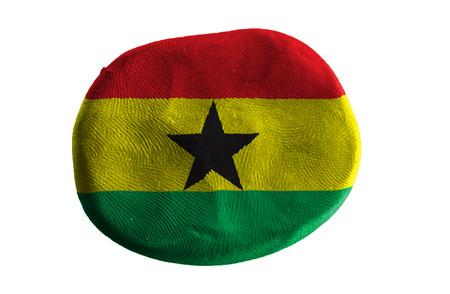 Ghana: ghana flag,clay