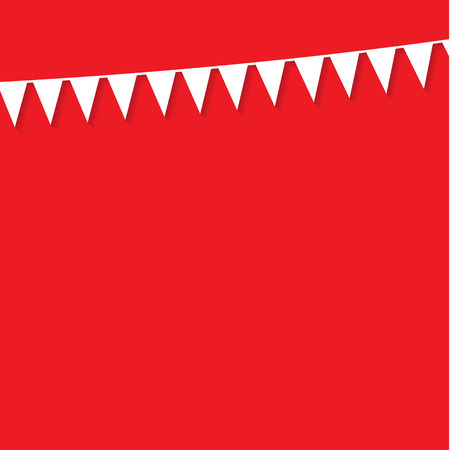 bunting flags: bunting flags Illustration