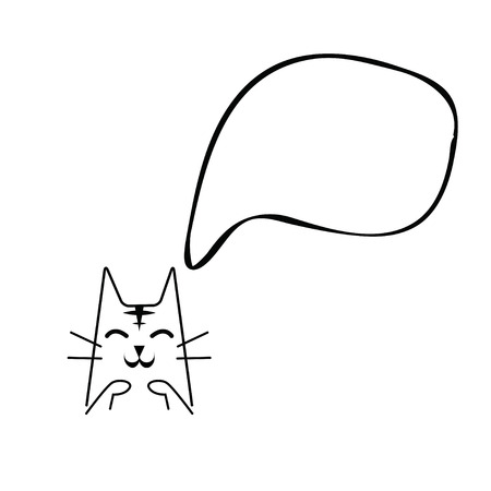 cartoons sweet: cat cartoon