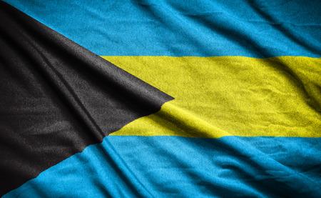 bahamas: bahamas. flag Stock Photo