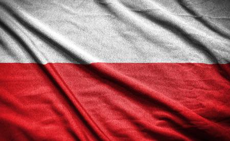 polish flag Zdjęcie Seryjne - 42738431