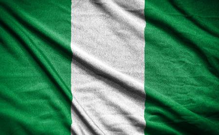 bandera blanca: Bandera de Nigeria